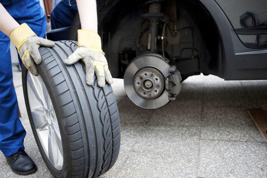 Самостоятельная замена колеса Динамометрический ключ