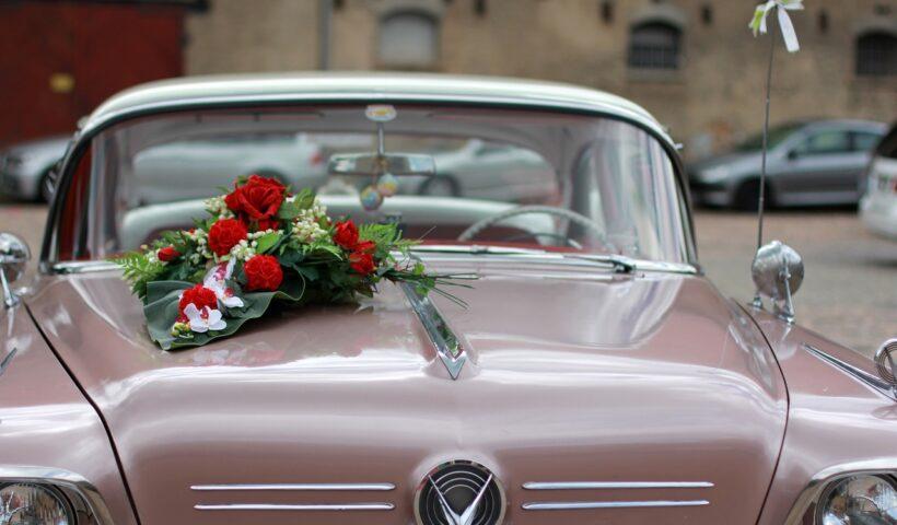 Авто украшаем к свадьбе