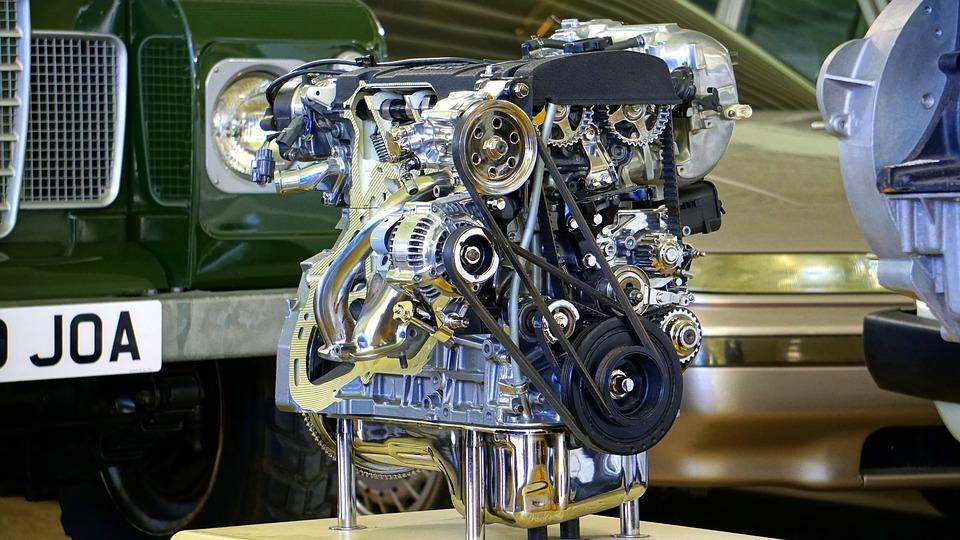 двигатель красивый