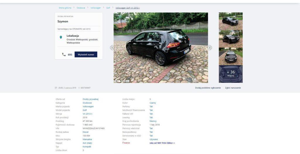 Продажа авто после аварии