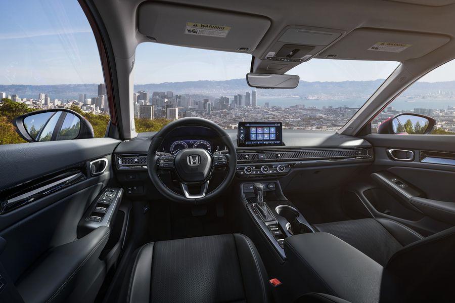 Honda Civik 11 интерьер