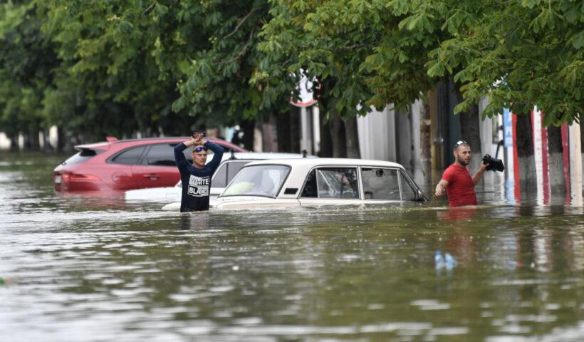 подтопленные автомобили
