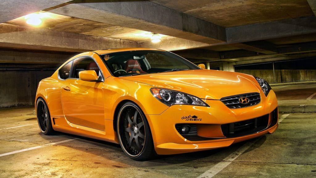 оранжевый авто