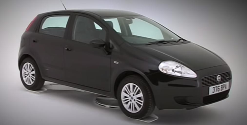 Fiat Grande Punto до 250 тыс. рублей
